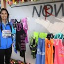 Padma Lakshmi participate in the MORE/SHAPE Women's Half-Marathon on April 17, 2016 in New York City - 454 x 316