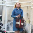 Elisabeth Moss – Filming 'The Kitchen' in New York - 454 x 654