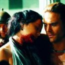 Dustin Clare and Marisa Ramirez in Spartacus: Gods of the Arena (2011)