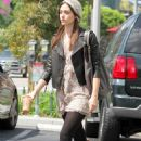 Emmy Rossum - Out & About In Los Angeles - September 9, 2010
