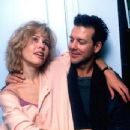 Debra Feuer and Mickey Rourke