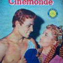 Rossana Podestà, Jacques Sernas - Cinemonde Magazine Cover [France] (30 July 1954)