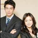 Dennis Joseph O'Neil and Nam Sang Mi In Sweet Spy Korean Drama 2005