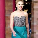 Scarlett Johansson At The Late Show with David Letterman
