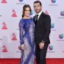 Martín Fuentes and Jacqueline Bracamontes- 16th Latin GRAMMY Awards- Red Carpet
