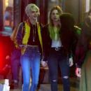Cara Delevingne and Ashley Benson – Leaves Lucky Strike in New York - 454 x 618