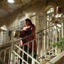 Michal Bat-Sheva Rand as Malli Bellanga and Shuli Rand as Moshe in USHPIZIN. © 2005 Picturehouse. - 454 x 303