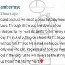 Amber Rose Professes Her Love For Wiz Khalifa on Instagram - April 2, 2015 - 454 x 313