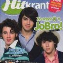 The Jonas Brothers - Hitkrant Magazine Cover [Netherlands] (13 August 2008)