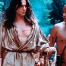 Daniel Day-Lewis as Hawkeye ( Nathaniel Poe) in The Last of The Mohicans  (1992)
