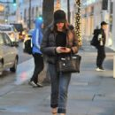 Sofia Vergara is seen at the tanning salon while out and about in Beverly Hills, California on December 15, 2016