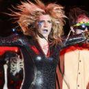 Ke$ha Rocks Out At The Grave Digger's Ball