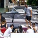 Kourtney Kardashian Takes a Boat Ride With Her Family in Miami - July 3, 2016 - 454 x 274