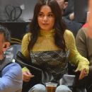Vanessa Hudgens – Cleveland Cavaliers vs Los Angeles Lakers at Staples Center in LA
