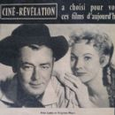 Alan Ladd - Cine Revelation Magazine Pictorial [France] (3 October 1957)