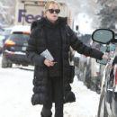 Melanie Griffith seen running some errands in Aspen, Colorado on December 29, 2014