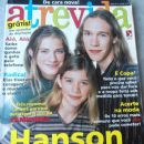 Hanson - Atrevida Magazine Cover [Brazil] (June 1998)