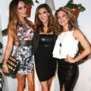 Courtney Bingham-Sixx, Heather McDonald, and Alexis Carra attend the Covenant House California (CHC) All Star Mixology competition at SkyBar at the Mondrian Los Angeles on October 1, 2014 in West Hollywood, California. - 396 x 594