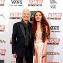 Jimmy Page, 75, is joined by girlfriend Scarlett Sabet, 29, at the Kerrang! Awards as the Led Zeppelin guitarist received Icon gong - 454 x 699