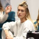 Hailey Bieber – Hits the salon in Beverly Hills