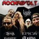 Mark Morton, Willie Adler, Chris Adler, Randy Blythe - Rockrevolt Magazine Cover [United States] (December 2012)