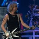 Def Leppard live at Ak-Chin Pavillion on September 23, 2015 in Phoenix, AZ
