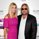 Rain Hannah and Vince Neil attend Keep Memory Alive's 21st Annual 'Power Of Love Gala'  on April 27, 2017 in Las Vegas, Nevada - 453 x 600