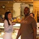 Kylie Jenner – Out for lunch with Corey Gamble at Blue Table in Calabasas