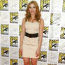 Scarlett Johansson - Iron Man 2 Panel At Comic-Con 7/25/09