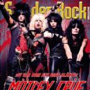 Vince Neil, Nikki Sixx, Tommy Lee, Mick Mars - Sweden Rock Magazine Cover [Sweden] (May 2015)