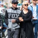 Singer Pink and her husband Carey Hart out shopping in New York City, New York on April 27, 2014 - 359 x 594