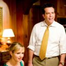 "Ivy Selleck (Jordana Spiro, left) and her fiancé Paxton Harding (Ed Helms, right) in the comedy ""The Goods: Live Hard. Sell Hard."" Photo Credit: Sam Emerson. Copyright © 2009 by PARAMOUNT VANTAGE, a division of PARAMOUNT PICTURES CORPORATION. - 454 x 681"