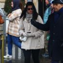 Adriana Lima – On a rainy day in Paris