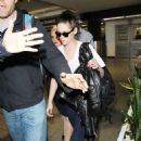 Robert Pattinson and Kristen Stewart Say Adieu to Paris and Back to LA Together