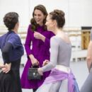 The Duchess Of Cambridge Visits The Royal Opera House - 454 x 290