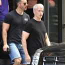 Anderson Cooper and Benjamin Antoine Maisani - 454 x 734