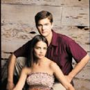 Joshua Jackson as Pacey Witter and Katie Holmes as Joey Potter in Dawson´s Creek (1998)