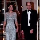 Duchess Catherine and Prince William Attend Gala Dinner