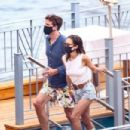Emilia Clarke – Seen in Positano