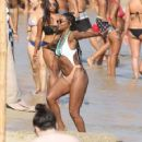 Gabrielle Union – Bikini Candids at vacation on the island of Mykonos - 454 x 360