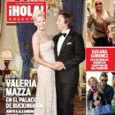 Alejandro Gravier, Valeria Mazza - Hola! Magazine Cover [Argentina] (9 February 2011)