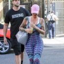 Amber Rose Heading to DWTS Rehearsals in Los Angeles, California - October 14, 2016