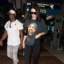 Kendall Jenner – Arrives at Charles de Gaulle airport in Paris
