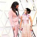 Jason Momoa and Lisa Bonet - 91st Annual Academy Awards - Arrivals - 400 x 600
