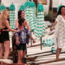 Nicole Scherzinger – On a photoshoot on the beach in Mykonos - 454 x 303