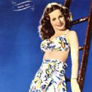 Jeanne Crain - Screen Stars Magazine Pictorial [United States] (October 1945) - 454 x 579