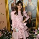 Zooey Deschanel – In Pink Short dress at 'Emma' premiere in Los Angeles - 454 x 682