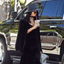Vanessa Hudgens in Black Outfit – Out in Los Angeles