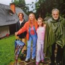 Maximilian Schell and Natalya Andreichenko - Caravan of Stories Magazine Pictorial [Russia] (July 2012)
