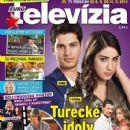 Çagatay Ulusoy, Hazal Kaya - Eurotelevízia Magazine Cover [Slovakia] (8 November 2014)